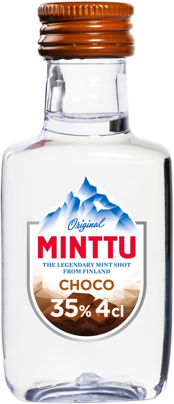 Minttu Choco plastic bottle