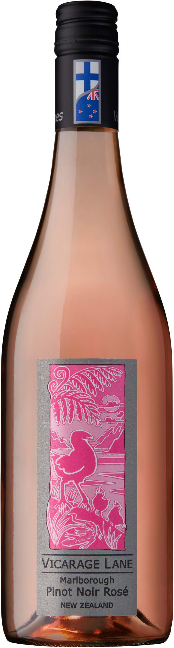 Vicarage Lane Canterbury Pinot Noir Rosé 2018