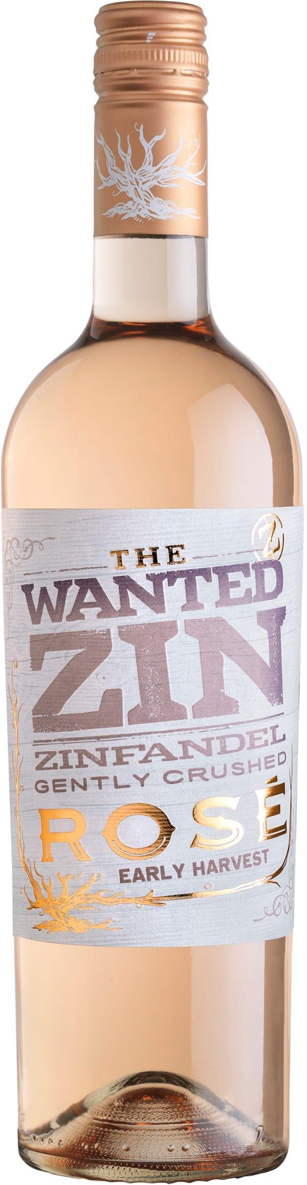 The Wanted Zin Blush Zinfandel 2016