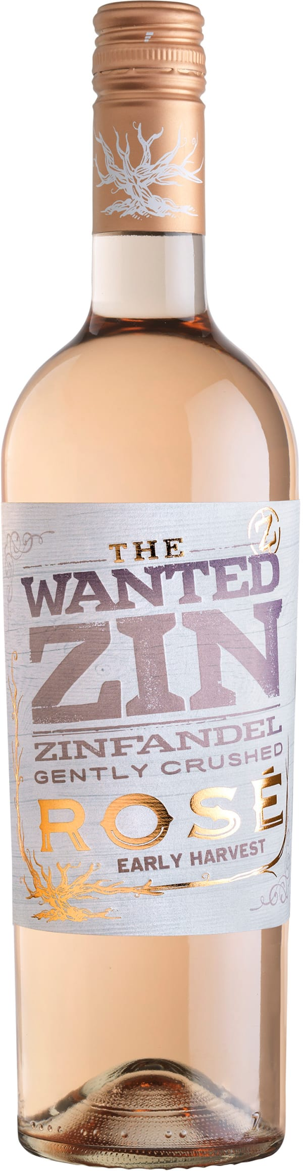 The Wanted Zin Rosé  2018