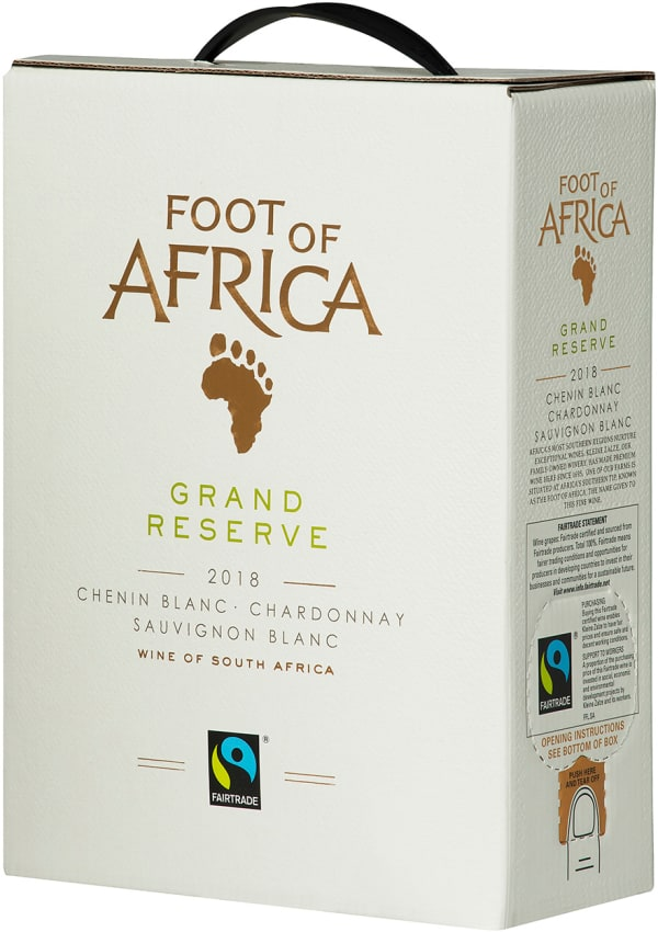 Foot of Africa Grand Reserve 2018 hanapakkaus
