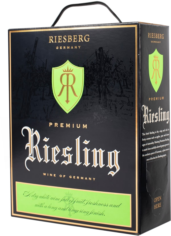 Riesberg Premium Riesling 2019 bag-in-box