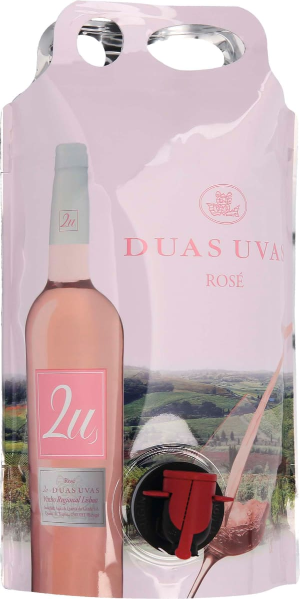 2U Duas Uvas Rose 2020 wine pouch