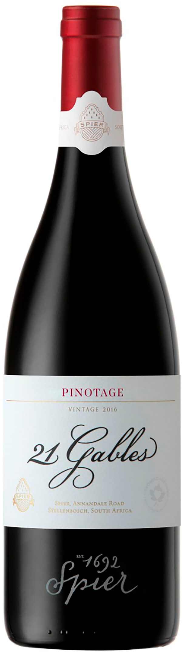Spier 21 Gables Pinotage 2015