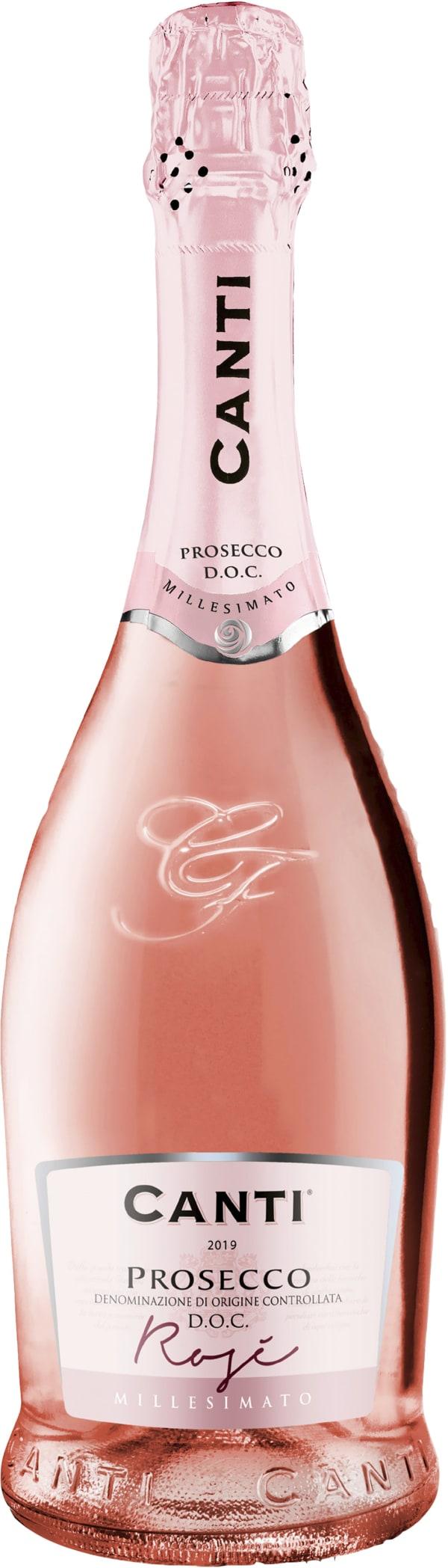 Canti Millesimato Prosecco Rosé Extra Dry 2019
