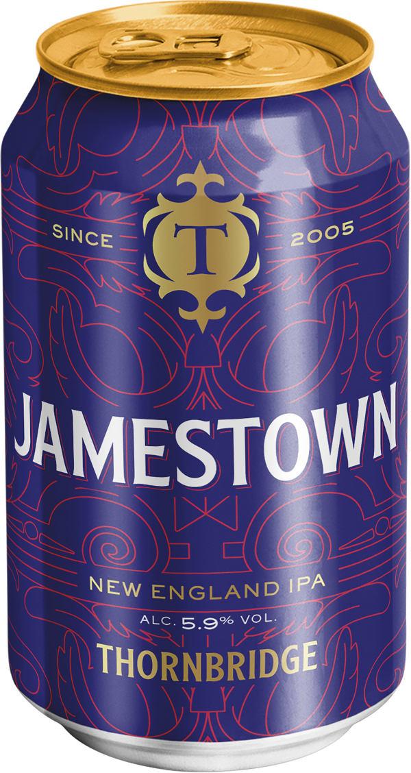 Thornbridge Jamestown New England IPA can