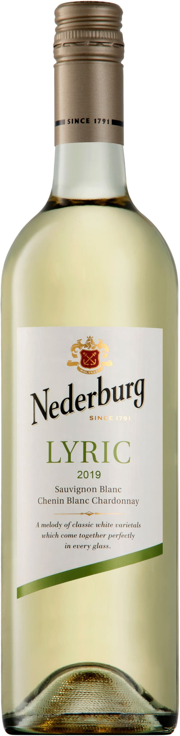 Nederburg Lyric Sauvignon Blanc Chenin Blanc Chardonnay 2019