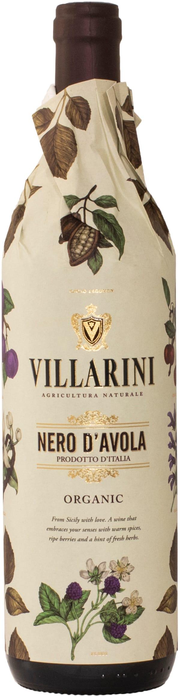 Villarini Nero d'Avola Organic 2018