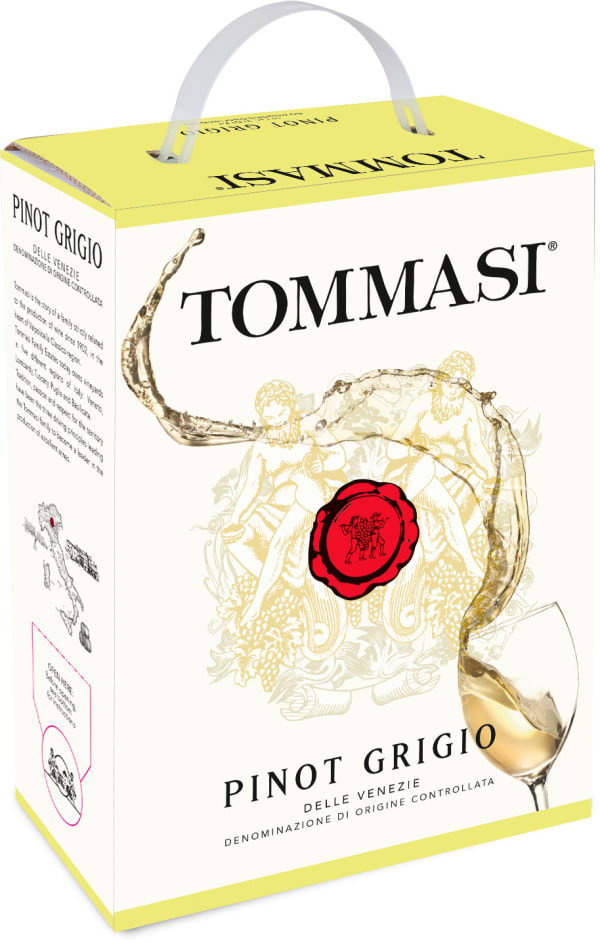 Tommasi Pinot Grigio 2017 bag-in-box