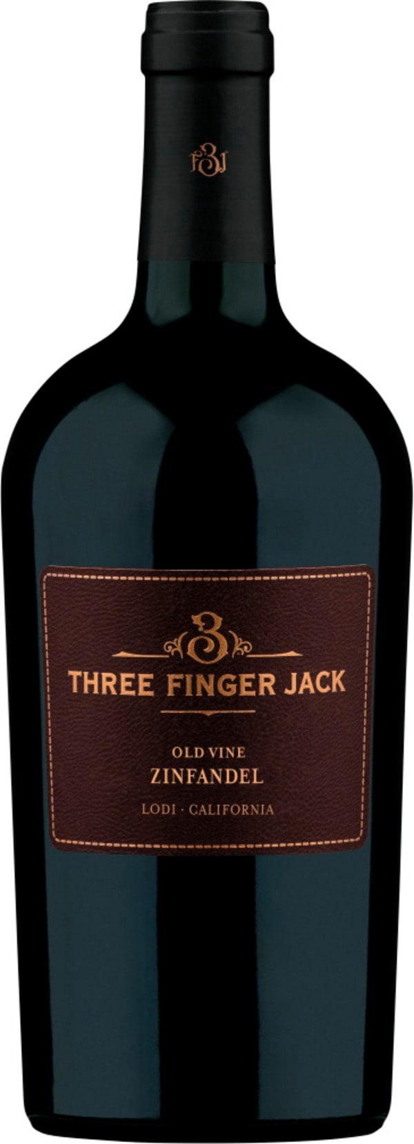 3 Finger Jack Old Vine Zinfandel 2015