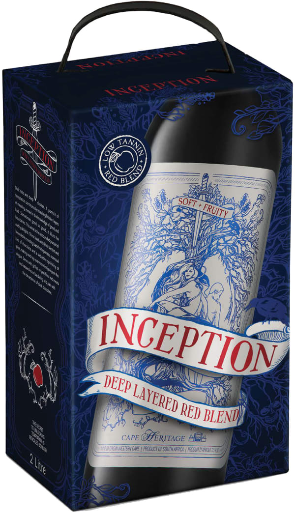 Inception Deep Layered Red 2018 bag-in-box