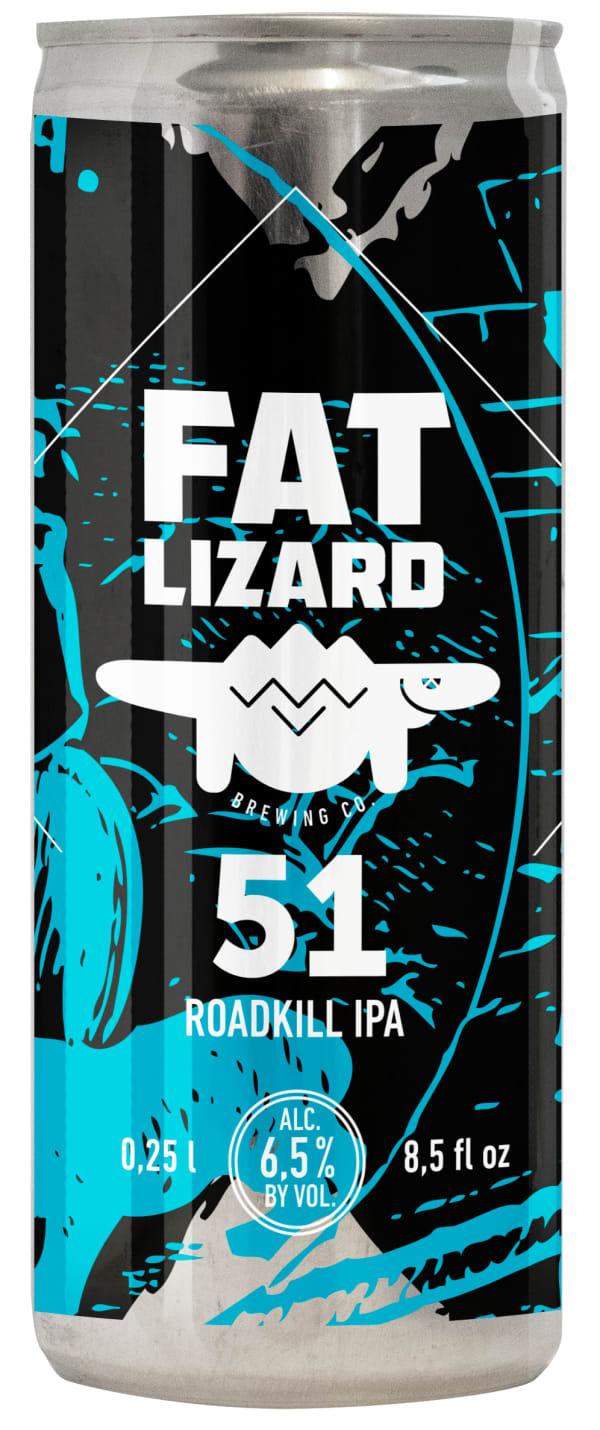 Fat Lizard 51 Roadkill IPA can