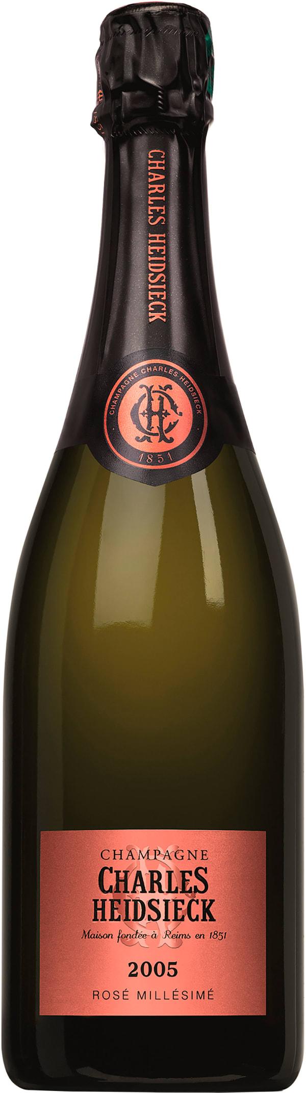 Charles Heidsieck Vintage Rosé Champagne Brut  2005