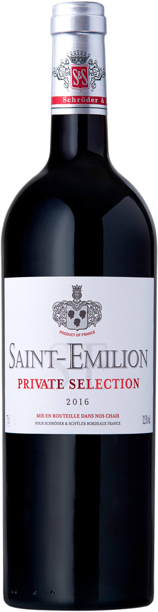 Schröder & Schÿler Private Selection Saint Émilion 2016