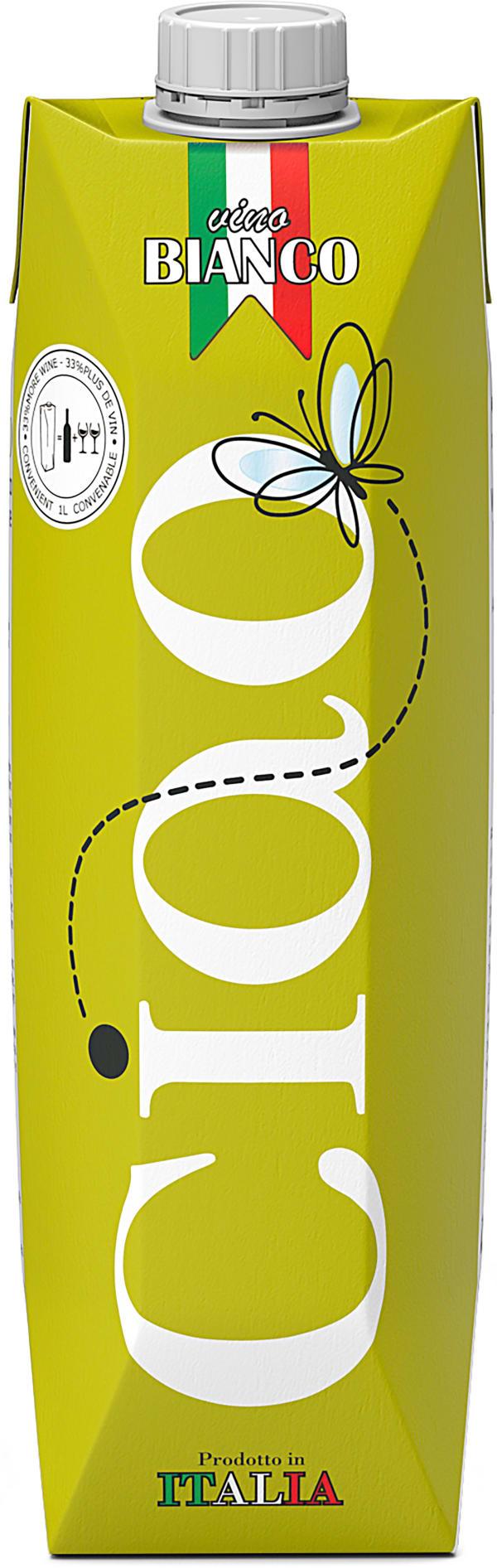 Ciao Organic Chardonnay carton package