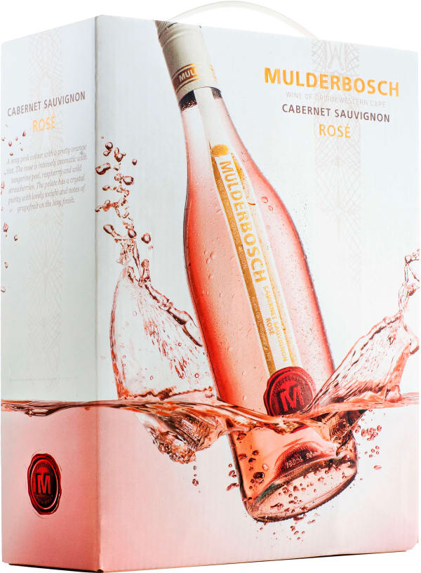 Mulderbosch Cabernet Sauvignon Rose 2018 lådvin