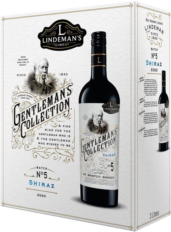 Lindeman's Gentleman's Collection Shiraz 2018 bag-in-box