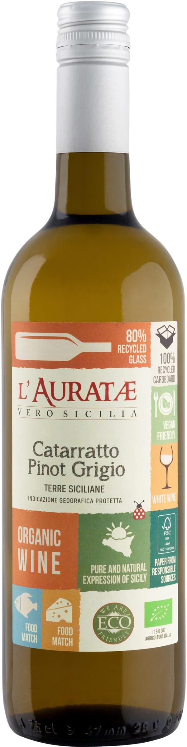 L'Auratae Organic Catarratto Pinot Grigio 2019