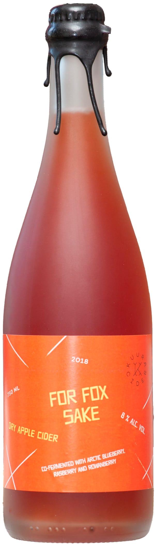 Kuura For Fox Sake Dry Apple Cider 2018