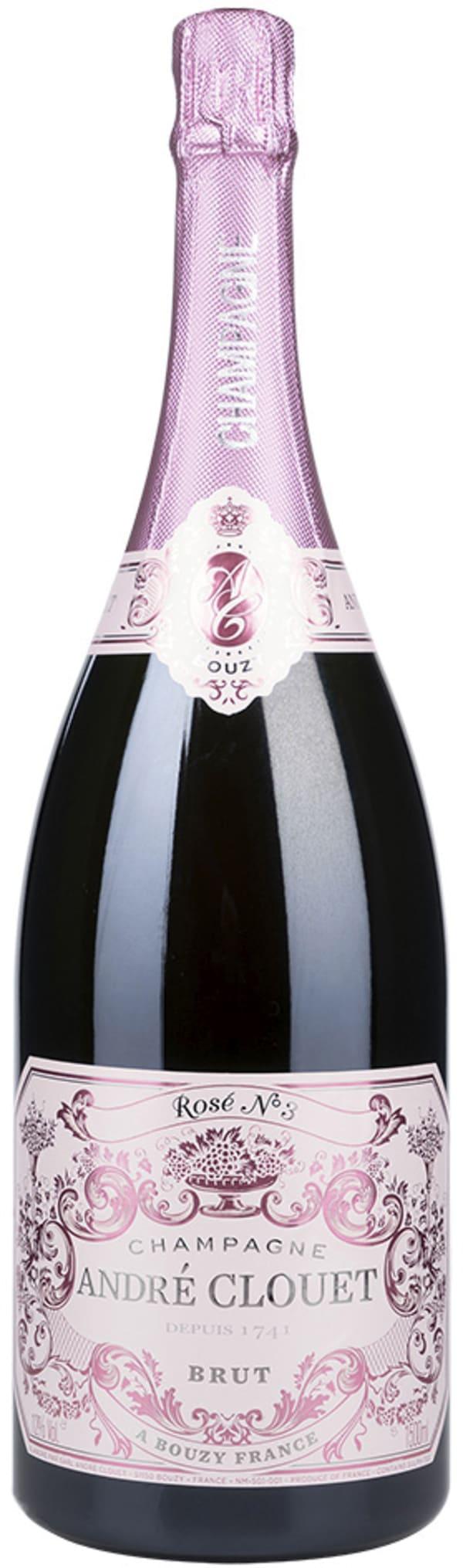André Clouet Rosé Champagne Brut Magnum
