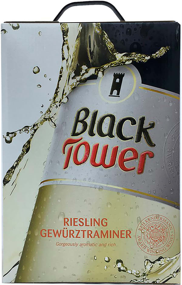 Black Tower Riesling Gewürztraminer 2017 lådvin