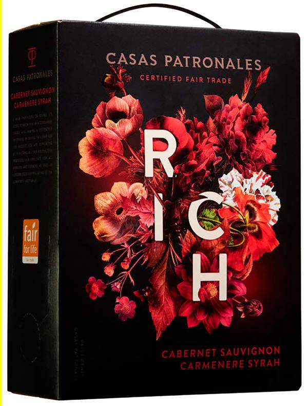 Casas Patronales Rich lådvin
