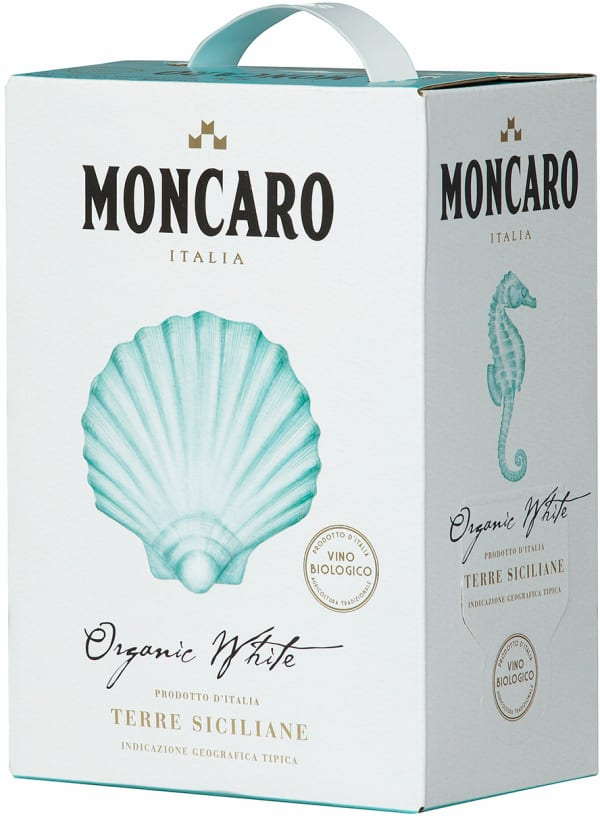 Moncaro Organic White 2019 bag-in-box