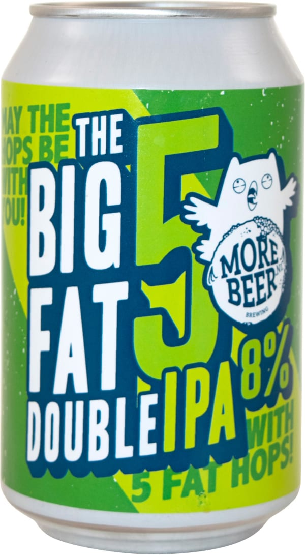 Uiltje Big Fat 5 Double IPA can