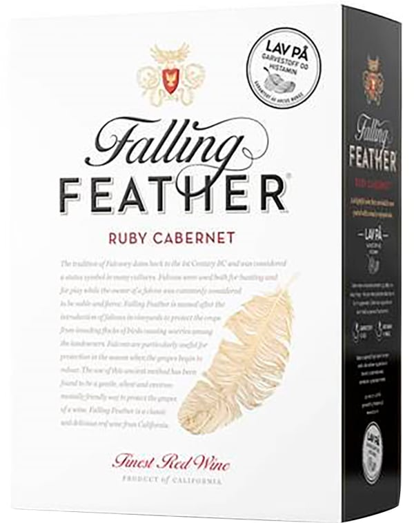 Falling Feather Ruby Cabernet 2017 bag-in-box