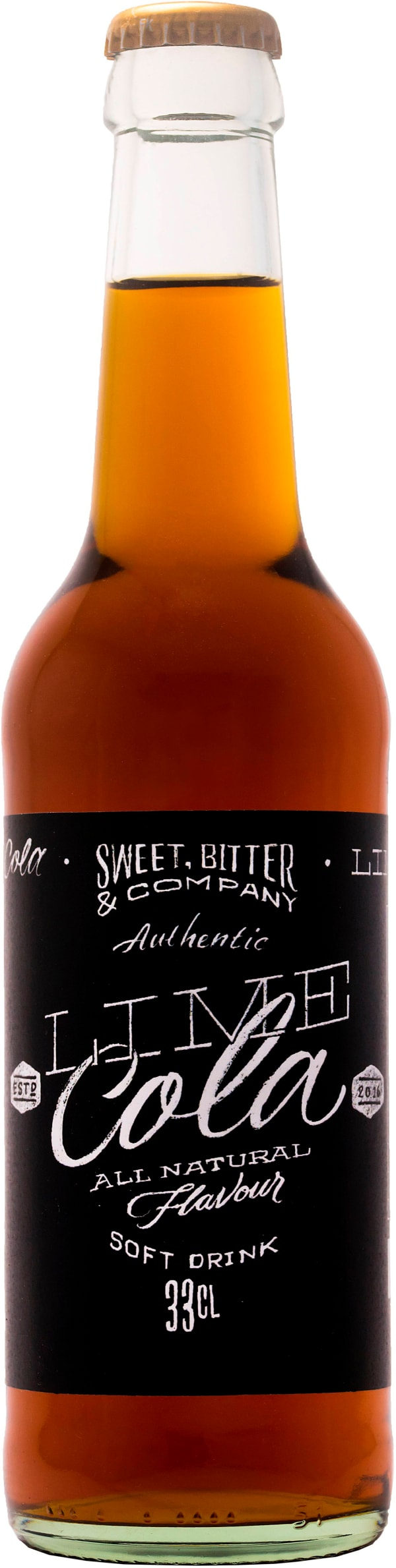 Sweet, Bitter & Co Lime-Cola