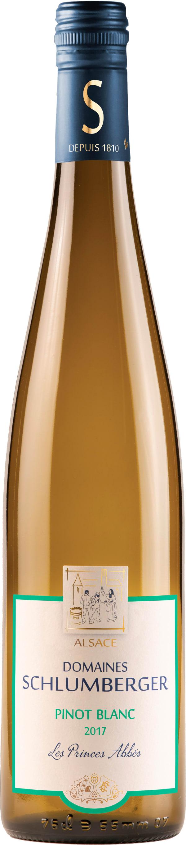 Domaines Schlumberger Pinot Blanc Les Princes Abbés 2015