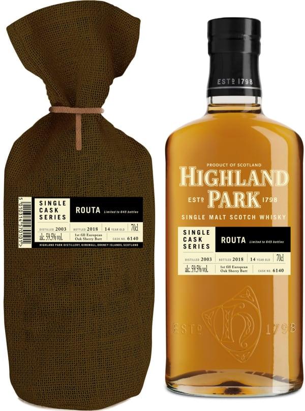 Highland Park Single Cask Series Routa