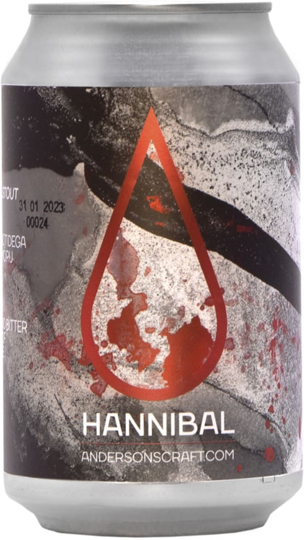 Anderson Hannibal Imperial Stout can
