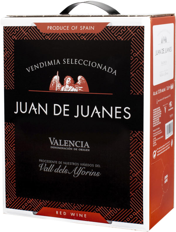 Juan de Juanes Red 2018 bag-in-box