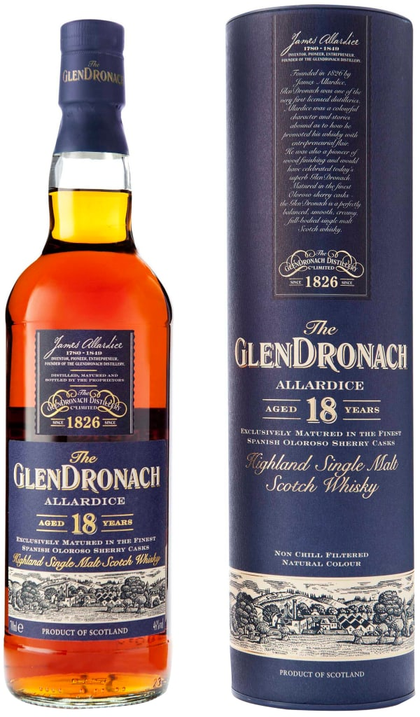 The GlenDronach Allardice 18 Year Old Single Malt