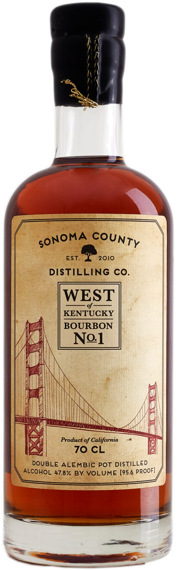 West of Kentucky Bourbon No. 1