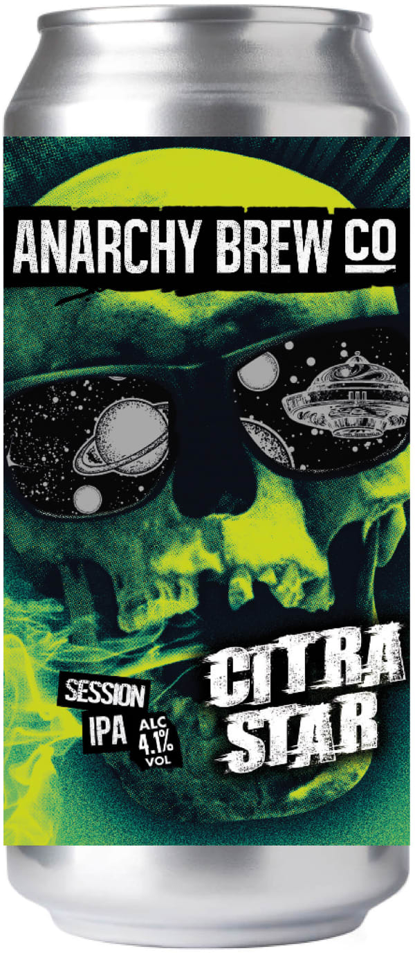 Anarchy Citra Star Session IPA burk