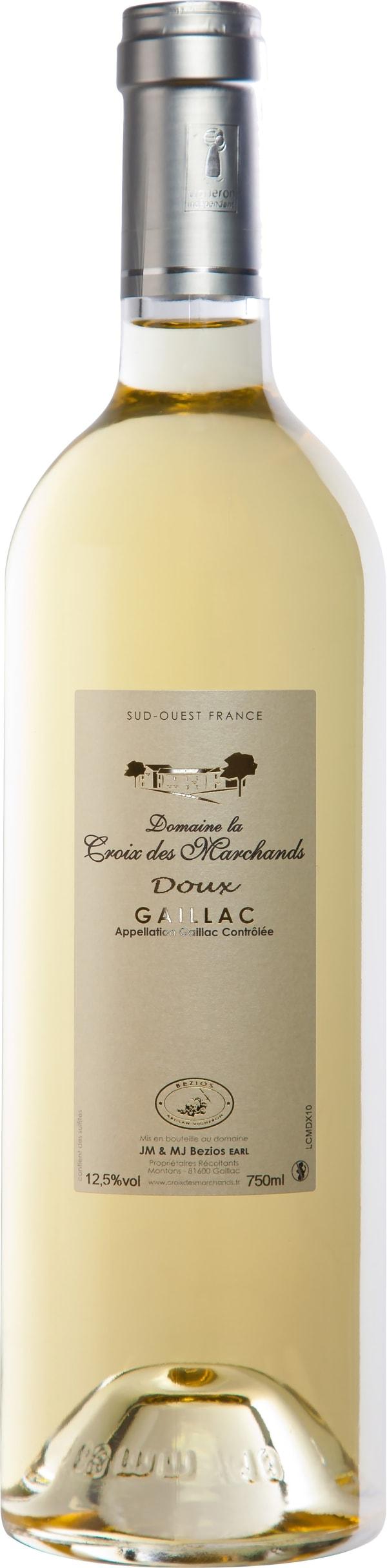 Domaine La Croix Des Marchands Douceur D'Automne Gaillac 2016