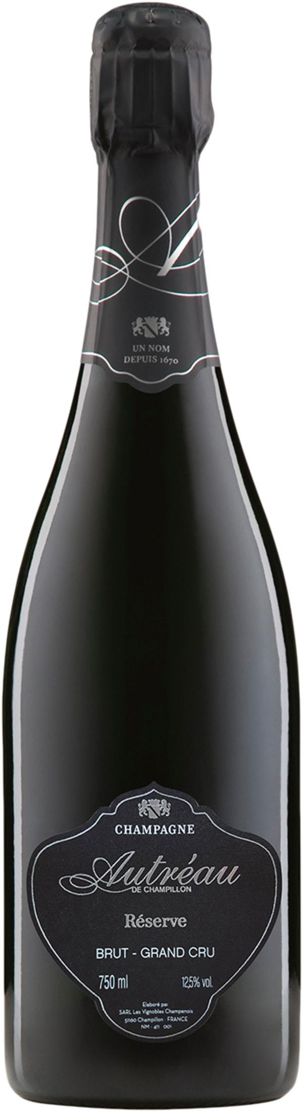 Champagne Autréau de Champillon Cuvée Brut Réserve Grand Cru