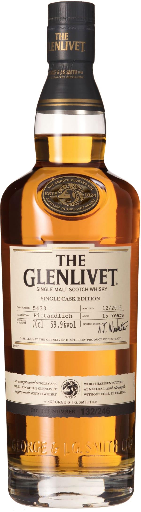 The Glenlivet Pittandlich Single Cask Edition Single Malt