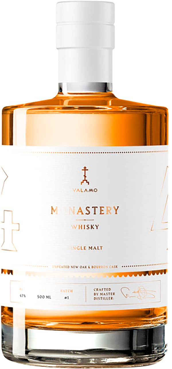 Valamo Monastery Whisky Unpeated Batch #1 Single Malt