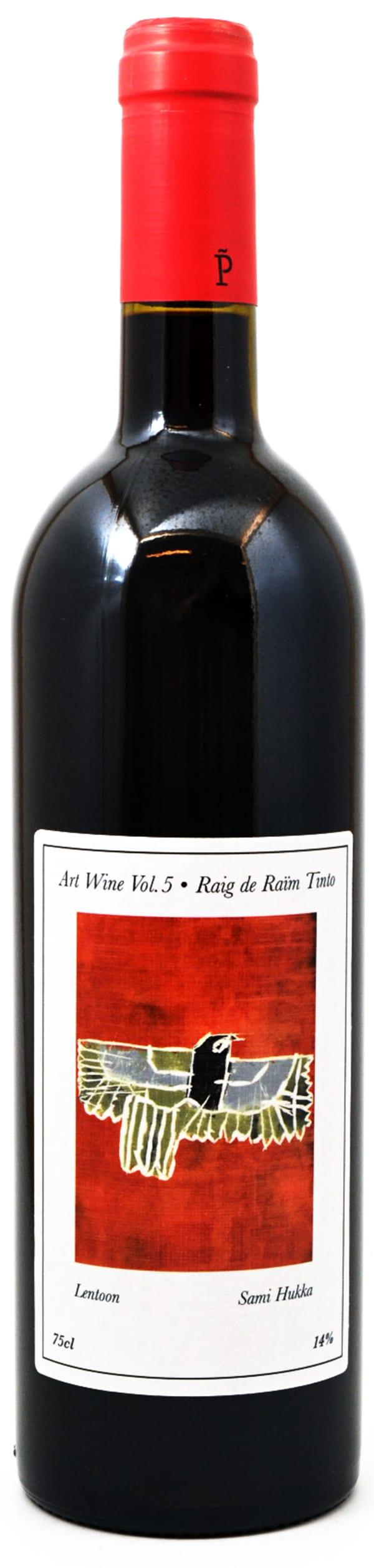 Raig de Raim Tinto Art Wine Vol.5 2014