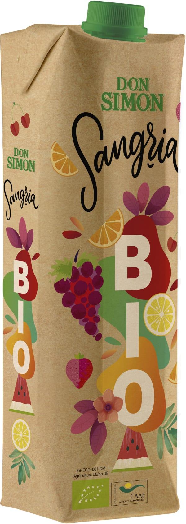 Don Simon Organic Sangria kartongförpackning