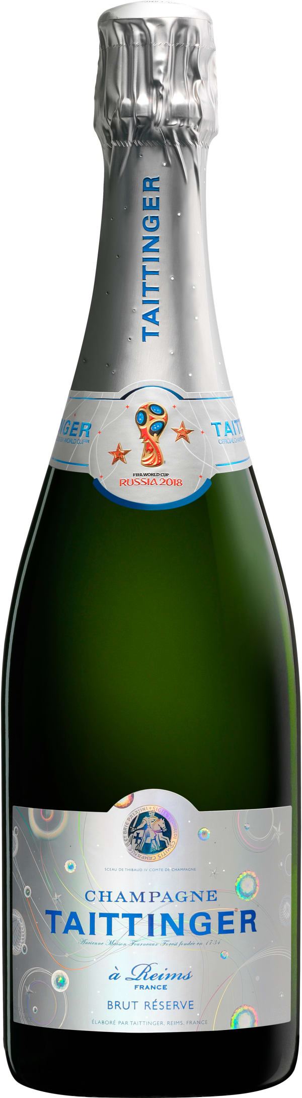 Taittinger Réserve Official FIFA World Cup Champagne Brut