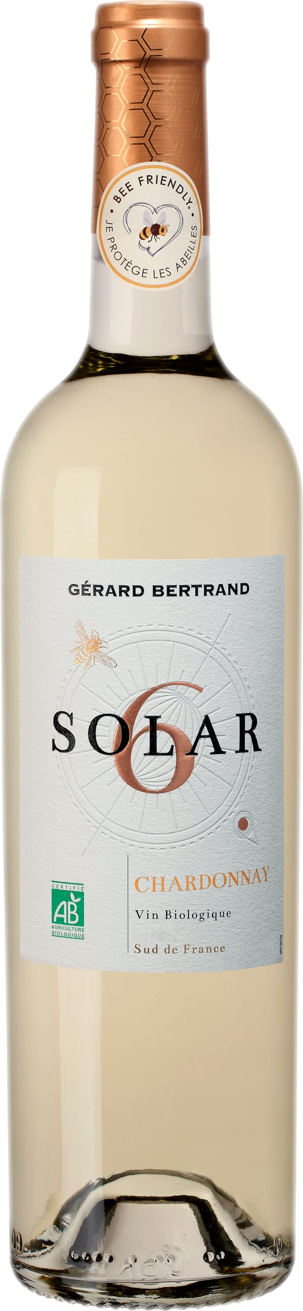 Gérard Bertrand Solar 6 Bee Friendly Chardonnay 2018