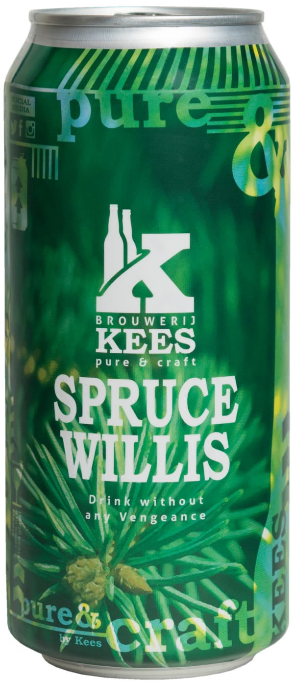 Kees Spruce Willis IPA can