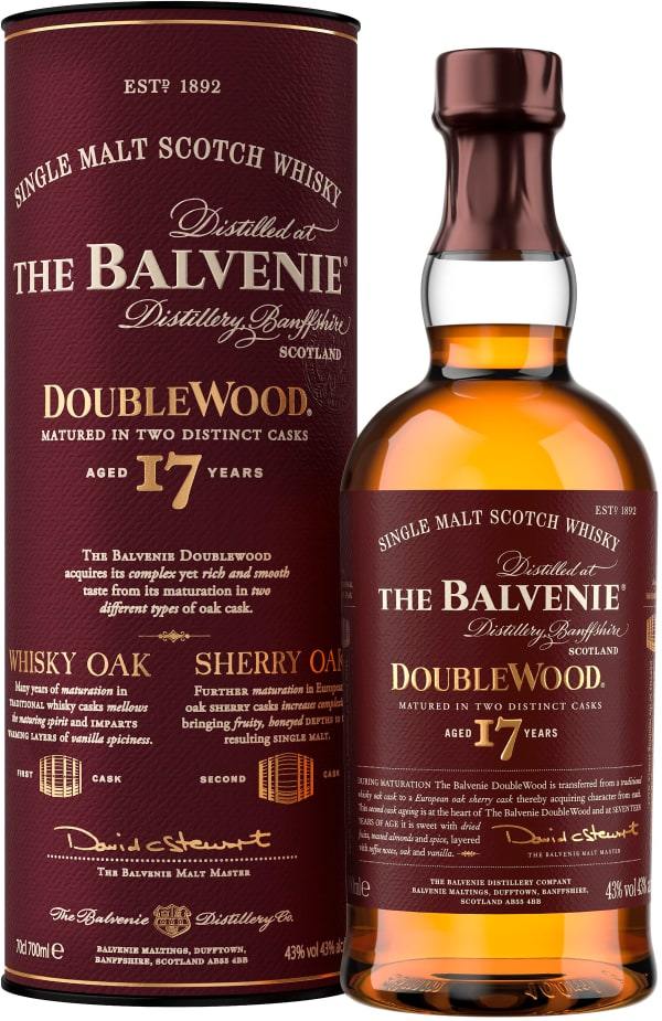 The Balvenie DoubleWood 17 Year Old Single Malt