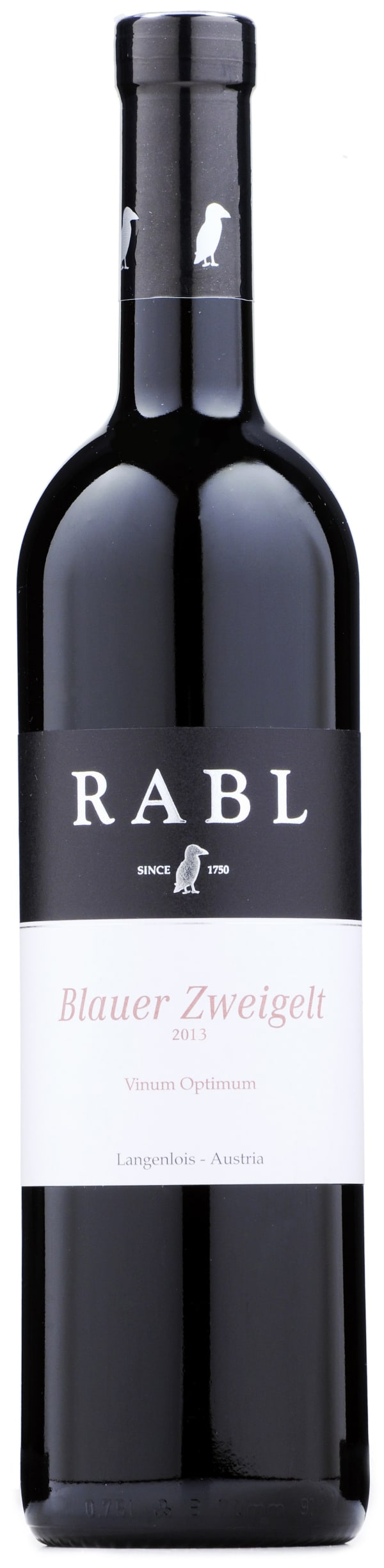 Rabl Blauer Zweigelt Vinum Optimum 2013