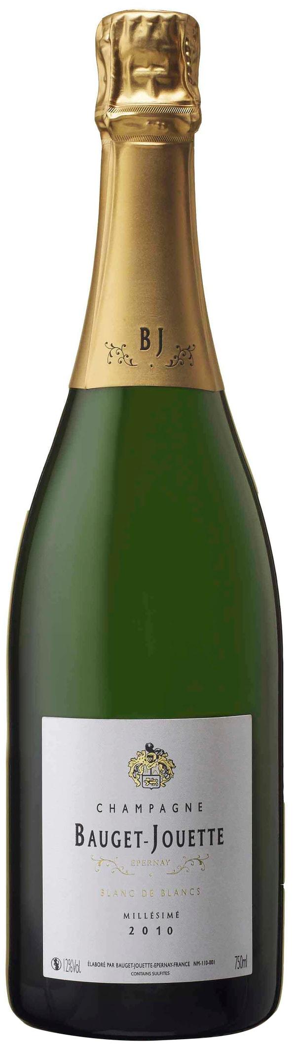 Bauget-Jouette Blanc de Blancs Millésimé Champagne 2010