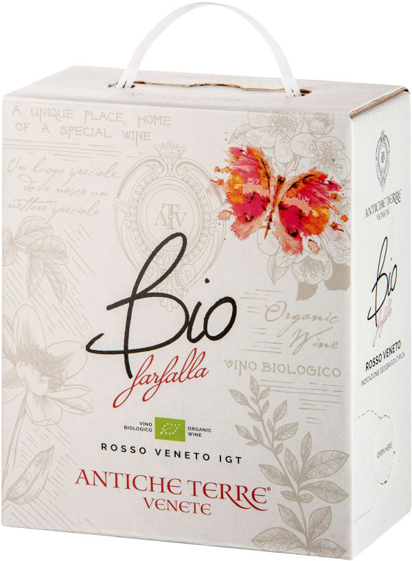 Antiche Terre Venete Farfalla Rosso Bio bag-in-box